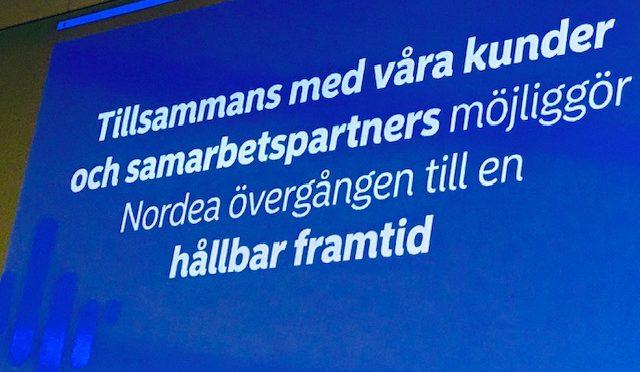 Inbjudan till Investerarmötet med Nordea 3 december på Hotell Anglais, Stureplan!