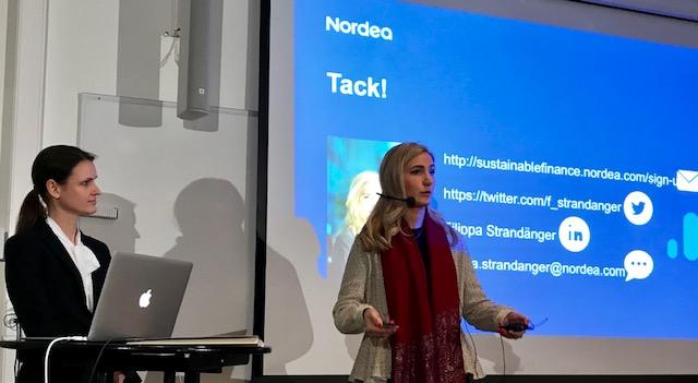 Investerarmötet 3 december med Nordea, filmade presentationer & intervjuer!